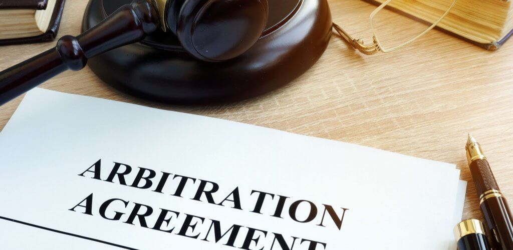 "Document with title ""Arbitration Agreement."""