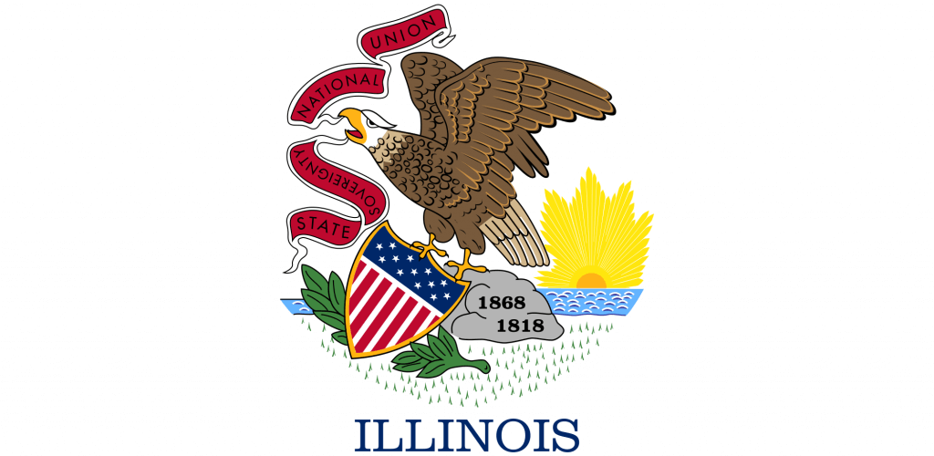 Illinois State Flag