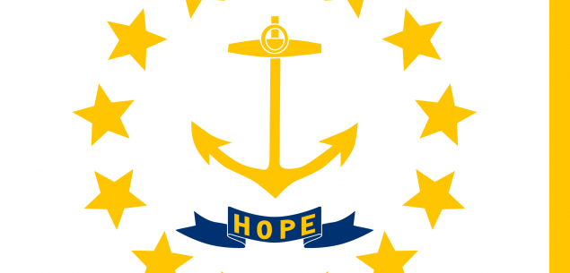 State flag of Rhode Island