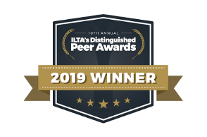 ILTA Peer Award Winner 2019