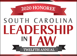 2020 South Carolina Leadership in Law Honoree