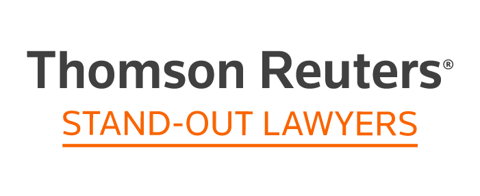 Thomson Reuters Stand Out Lawyer Badge