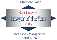 Lawyer of the Year C Matthew Keen 2017