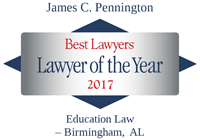 Lawyer of the Year James Pennington 2017
