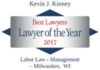 Lawyer of the Year Kevin Kinney 2017