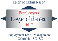 Lawyer of the Year Leigh Nason 2017