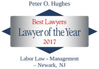 Lawyer of the Year Peter Hughes 2017