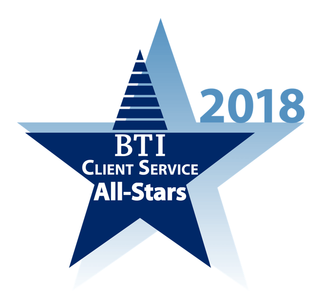 BTI Client Service All Star 2018