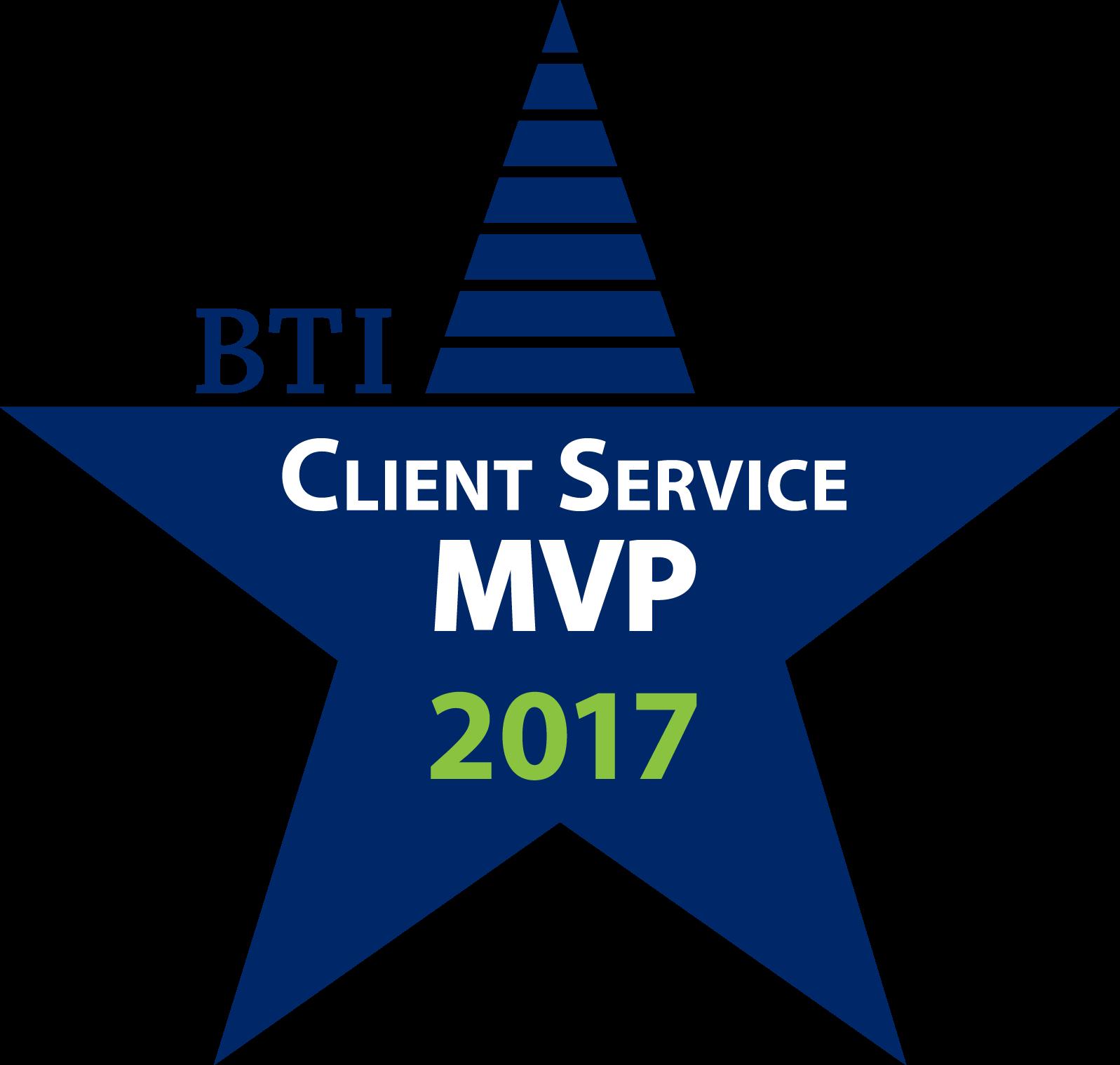BTI Client Service All Star MVP 2017
