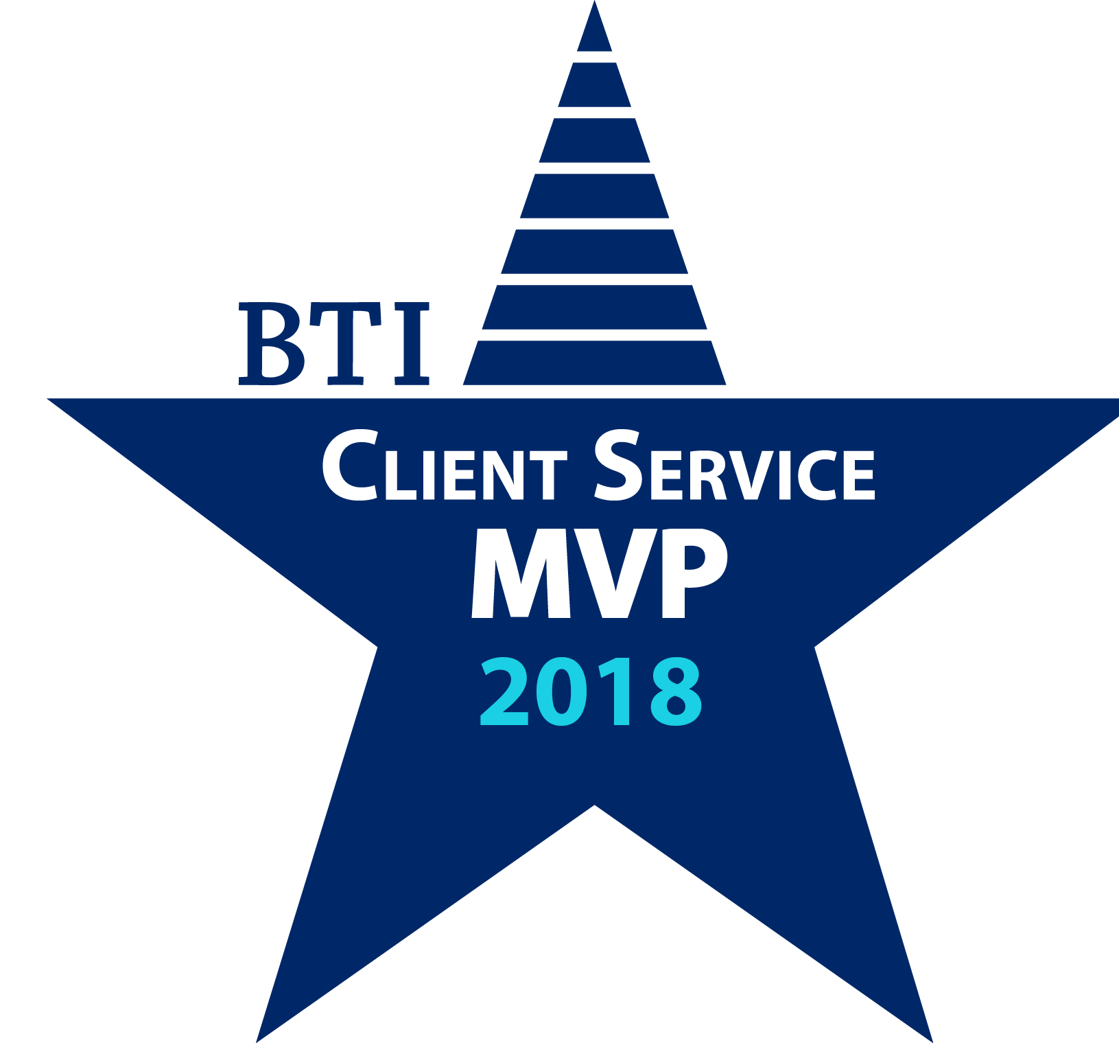 BTI Client Service All Star MVP 2018