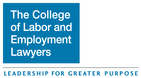 The College of Labor and Employment Lawyers Logo